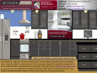 German Quality Kitchens Company in London | Wilson Fink