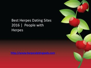 Best herpes dating sites 2016 | herpesdatingweb.com