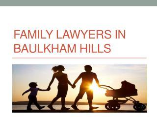 Family Lawyers In Baulkham Hills - Dinalawyers.com.au