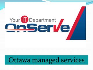 Ottawa managed services