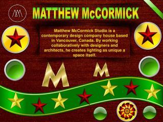 Matthew Mccormick studio company