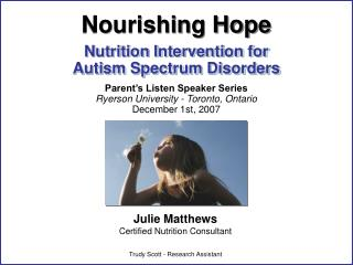 Nutrition Intervention for