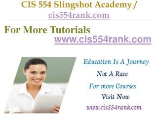 CIS 554 Slingshot Academy / cis554rank.com