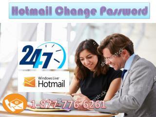 Call 1-877-776-6261 for Hotmail Change Password Helpline number USA