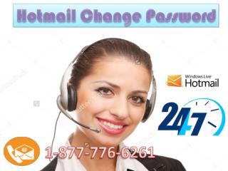 USA!! Call 1-877-776-6261 forHotmail Change Password Support alway's Tollfree