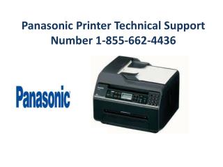 Panasonic Printer Tech Support Phone Number USA  1-855-662-4436