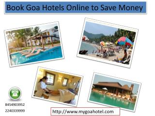 Best Deals for Beach Hotels Goa