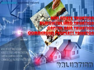Real estate valuers and valuation services