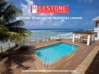 We have the selection of the best properties in Cayman Islands