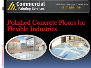 Flexible Polished Concrete Floors