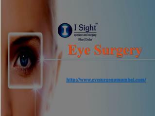 Eye Surgery Mumbai