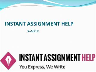 Instant Assignment Help Sample On Organization Behaviour