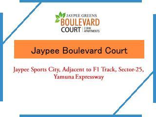 Jaypee Boulevard Court � 2BHK Flats � Investors Clinic