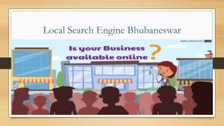 Odisha's No 1 Local Search Engine