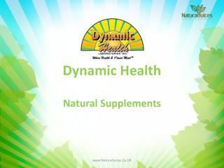 Dynamic Health Natural Supplements