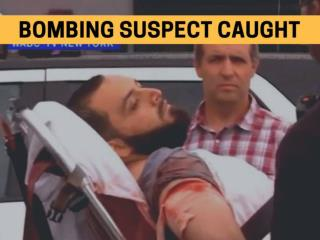 Bombing suspect caught