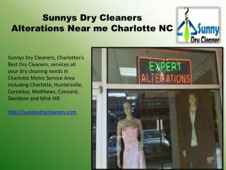 Household Items Dry Cleaning in Charlotte NC