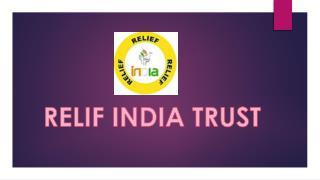 Relif india trust (balancing)