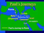 Paul- Journey to Rome