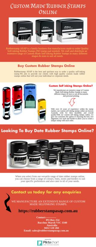 Order Custom Stamps Online in Australia at cheap Prices.