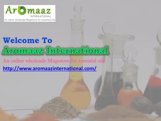 Buy online various types of Oleoresins at Aromaaz International
