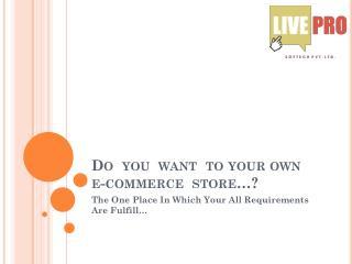 Livepro Softech Pvt Ltd