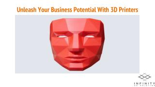 Unleash Your Business Potential With 3D Printers