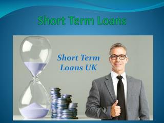 Instant Short Term Loans Online
