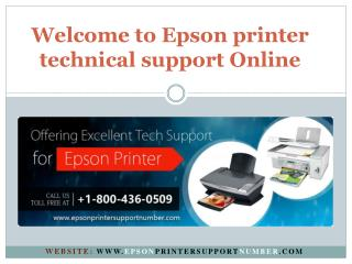 Epson printer technical support -tech support phone number | PPT