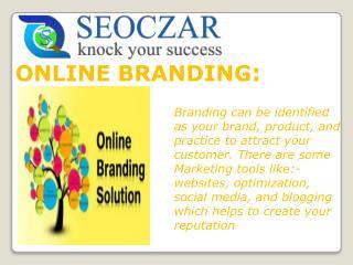 seoczar | Online Branding Services India | Online Brand Management