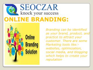 SEO Company In India | Online Branding In India | seoczar