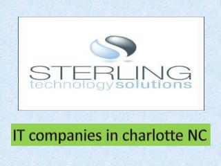 IT companies in charlotte NC