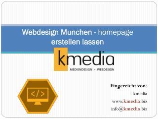 Webdesign Munchen - homepage erstellen lassen