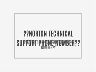 I800**681**7208 NORTON ANTIVIRUS Issue Tech Support Phone Number???