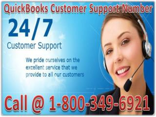 Quickbooks Error Support For Advisor Support Number 1800----349---6921
