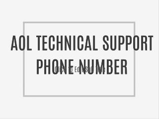 1(8OO)-681-7208 AOL mail Issue Tech Support Phone Number
