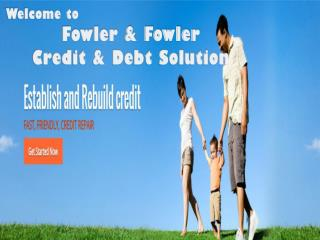 Best Credit Repair Company to fix bad Credit