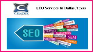 SEO Services In Dallas, Texas
