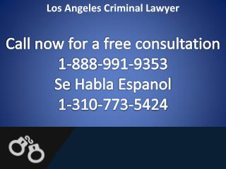 Los Angeles Drug Crimes Lawyer