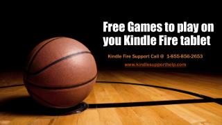 Free games to play on you kindle fire