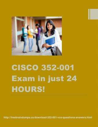 Cisco 352-001 Past Papers