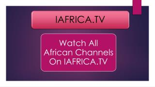 African TV-Watch Live TV