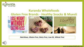 Kuranda Wholefoods Gluten Free Brands - Healthy Snacks & Muesli