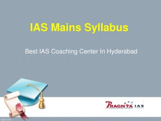 Best IAS and CIVIL Service coaching centers in Hyderabad – Pragnya IAS
