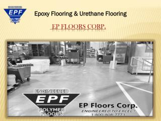 Epoxy Flooring Coatings MD,VA (MFG PLANTS)
