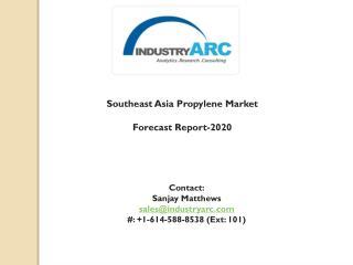 Southeast Asia Propylene Market: global demand for glycol market