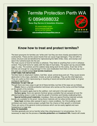 Termite Protection Perth WA