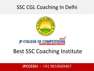 Bank PO & SSC Exam Preparation - JPCCEDU
