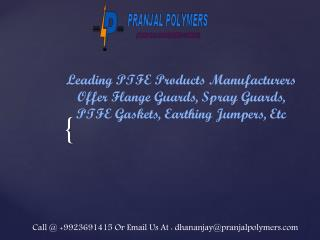 PTFE Flange Guards Supplier